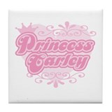 &quot;Princess Carley&quot; Tile Coaster