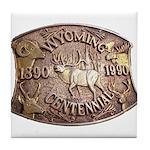 WY Centennial Tile Coaster