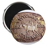WY Centennial Magnet