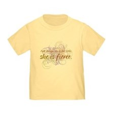 She is Fierce - Swirl T