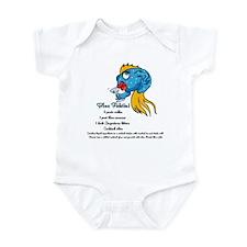 Blue Fishtini Infant Bodysuit