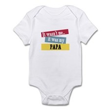 Papa Infant Bodysuit