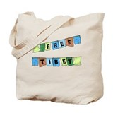 Free Tibet Prayer Flags Tote Bag