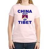 China Out of Tibet T-Shirt
