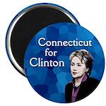 Connecticut for Clinton Magnet