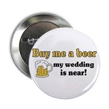 "Buy me a beer 2.25"" Button (10 pack)"