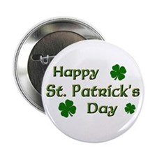 "Happy St. Patrick's Day 2.25"" Button (10 pack)"