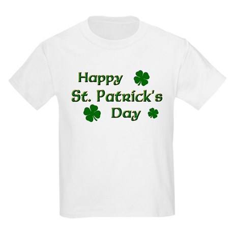 Happy St. Patrick's Day Kids Light T-Shirt