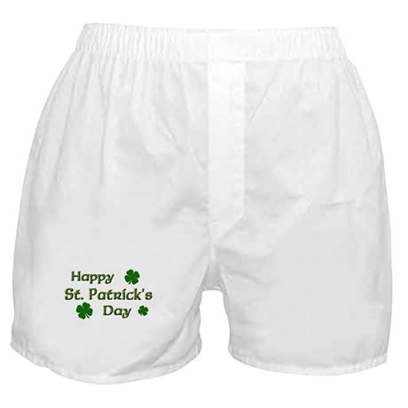 Happy St. Patrick's Day Boxer Shorts