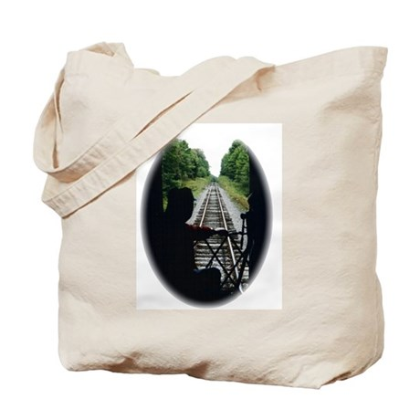 Train Conductor Tote Bag