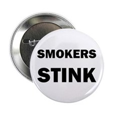 "SMOKERS STINK 2.25"" Button (10 pack)"