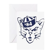 Cute Brigham young cougars Greeting Card