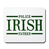 Irish Police Father Mousepad