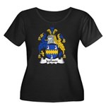 Jephson Family Crest Women's Plus Size Scoop Neck
