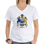 Jephson Family Crest Women's V-Neck T-Shirt