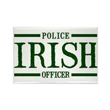 Irish Police Officer Rectangle Magnet