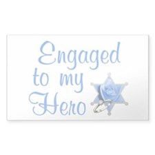 Engaged Deputy Rectangle Decal