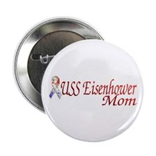 uss eisenhower mom Button