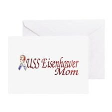 uss eisenhower mom Greeting Card