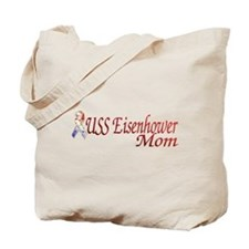 uss eisenhower mom Tote Bag