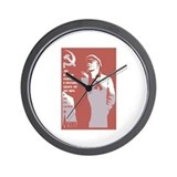 Lenin 3 Wall Clock