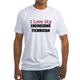 I Love My ENGINEERING TECHNICIAN Shirt