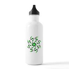 Green Tuna Spiral. Fi Water Bottle
