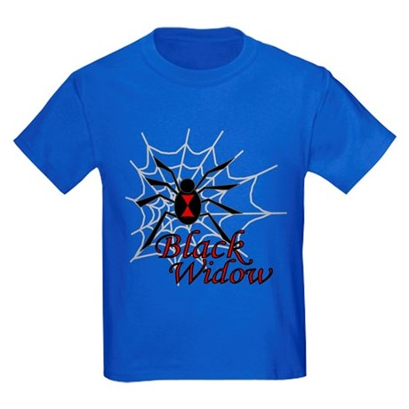 Black Widow Kids Dark T-Shirt