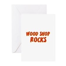 Wood Shop~Rocks Greeting Cards (Pk of 10)