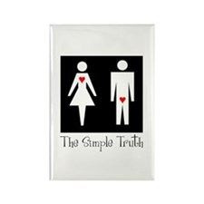The Simple Truth Rectangle Magnet