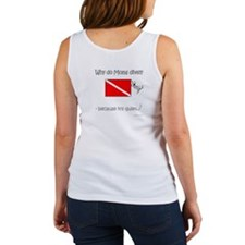 Diver Mom Front-Back Designs Women's Tank Top
