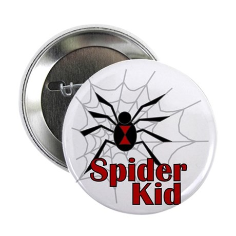 Spider Kid Button