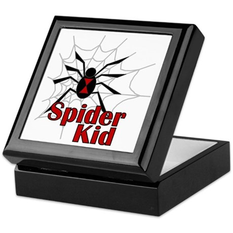 Spider Kid Keepsake Box