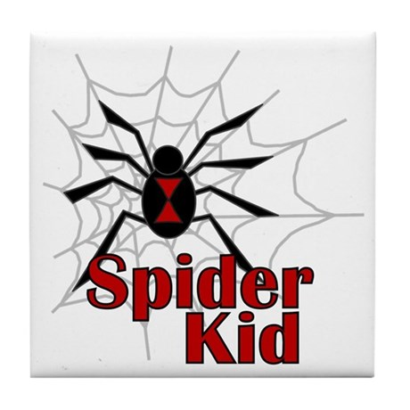 Spider Kid Tile Coaster