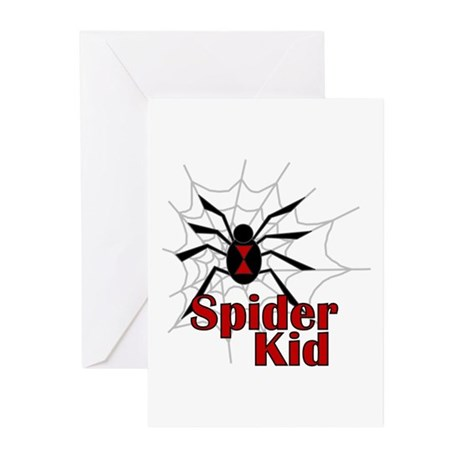 Spider Kid Baby Birth Announcements (Pk of 10)