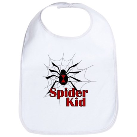 Spider Kid Bib
