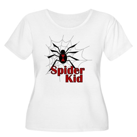 Spider Kid Women's Plus Size Scoop Neck T-Shirt