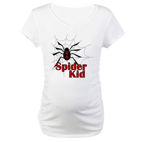 Spider Kid Maternity T-Shirt