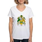 Inge Family Crest Women's V-Neck T-Shirt
