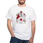Hurst Family Crest White T-Shirt