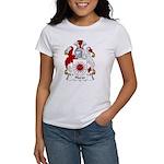 Hurst Family Crest Women's T-Shirt