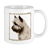 Cairn Terrier Profile Coffee Mug