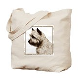 Cairn Terrier Profile Tote Bag