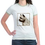 Cairn Terrier Profile Jr. Ringer T-shirt