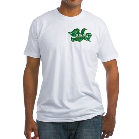 Independence Dove Fitted T-Shirt