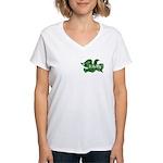 Independence Dove Women's V-Neck T-Shirt