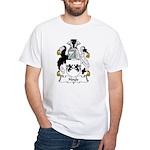 Hoyle Family Crest White T-Shirt