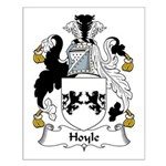 Hoyle Family Crest Small Poster