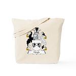 Hoyle Family Crest Tote Bag