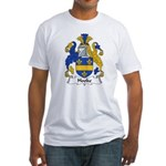 Hooke Family Crest  Fitted T-Shirt